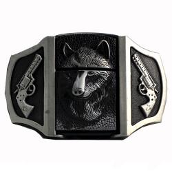 Wolf Lighter Trouser Belt Buckle