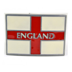 England Flag Trouser Belt Buckle