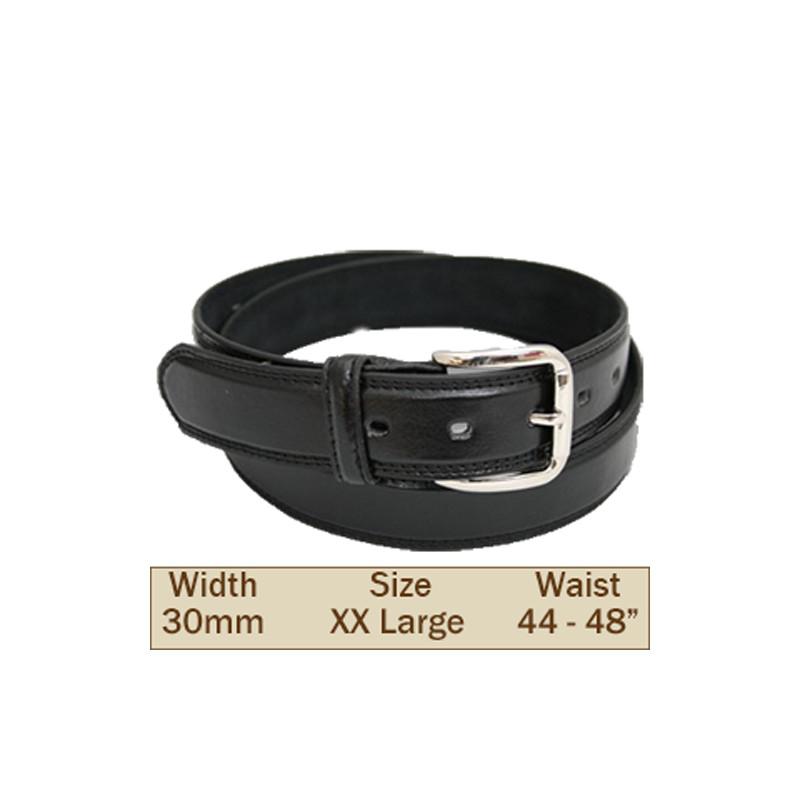 30mm Ossi Trouser Belt ( 2XL Black )