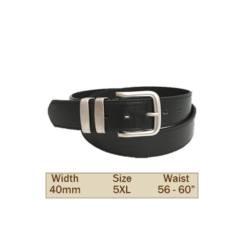 40mm Ossi Trouser Belt (5XL Black )