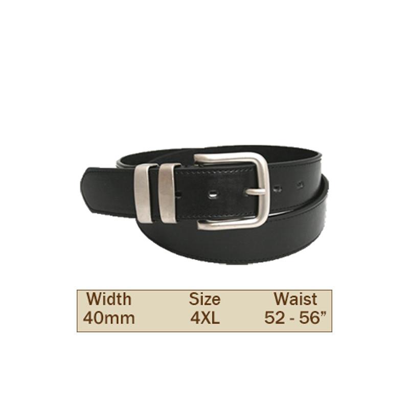 40mm Ossi Trouser Belt (4XL Black)